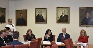 Ünnepi konferencia keretében avatták fel az Eperjes Termet és az Eperjes Emléktáblát