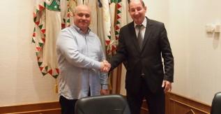 Az Orosz Állami Szakpedagógiai Egyetem rektorának látogatása