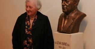 Felavatták Professor Emeritus Lévai Imre mellszobrát