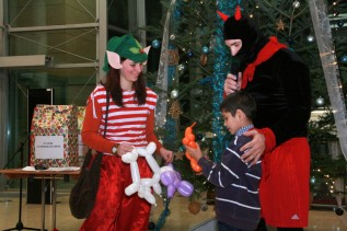 Gyermekvárosi karácsony a Miskolci Egyetemen