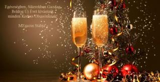 Boldog Új Évet kíván a MEgazin!