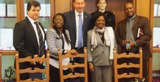 Az angolai nagykövet látogatása a Miskolci Egyetemen