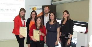 XIV. Felsőoktatási Média Konferencia - Díjazták a felsőoktatási médiában tevékenykedő legtehetségesebb fiatalokat