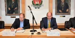 Együttműködési megállapodást írt alá a Miskolci Egyetem és a Magyar Földtani és Geofizikai Intézet