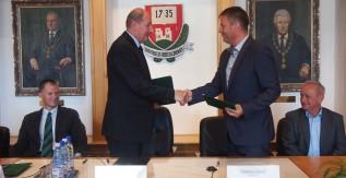 Együttműködési megállapodást kötött a Műszaki Földtudományi Kar és Mád önkormányzata