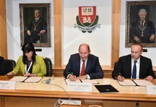 Oktatási együttműködési megállapodást írt alá a MaVíz és a Miskolci Egyetem