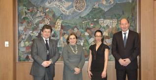 Egyetemünk vendége volt az ecuadori nagykövet