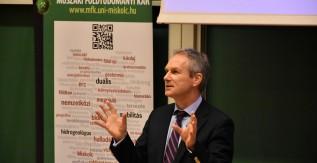 Kőrösi Csaba tartott előadást a Miskolci Egyetemen