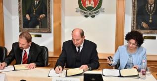 Együttműködési megállapodás született a Miskolci Egyetem és Sátoraljaújhely között