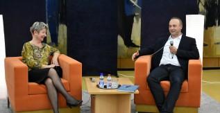 Dr. Deák Csaba, egyetemünk kancellárja volt az eMElő kör második vendége