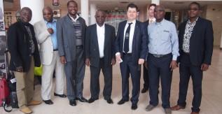 Benini egyetem delegációja látogatott a Miskolci Egyetemre