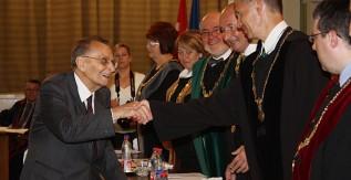 A Miskolci Egyetem díszpolgára lett Dr. Boleratzky Lóránd