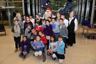 Joulopukki is ellátogatott a Gyermekvárosi karácsonyra