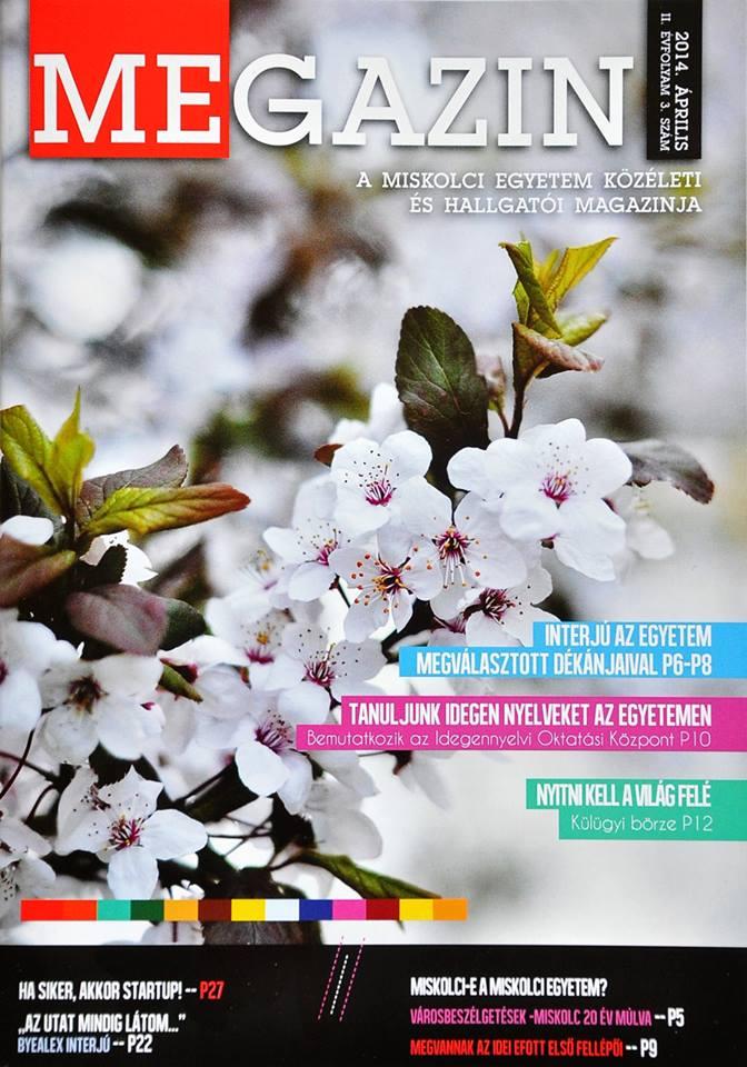 2014. április, II.évfolyam 3.szám
