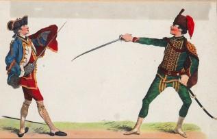 Előadás a kardvívásról