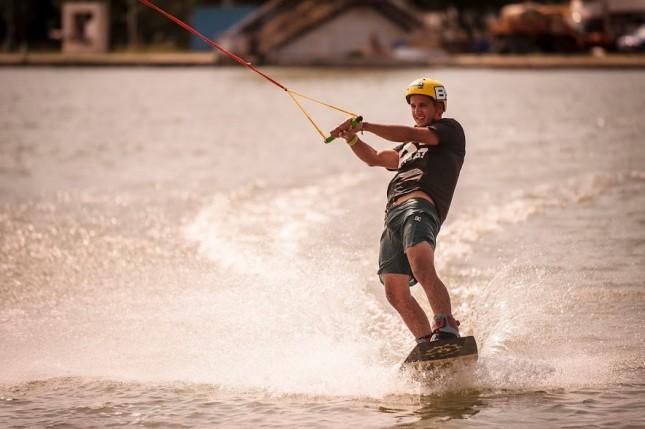 Wakeboardozással készül Nagy Réka és Jabin Peti az EFOTT-ra