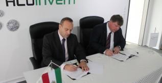 Együttműködési megállapodást kötött a Miskolci Egyetem és az Aluinvent Zrt.