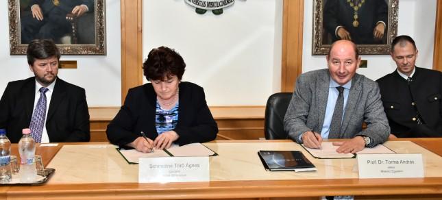 Erősödő együttműködés a középiskolák és a Miskolci Egyetem között