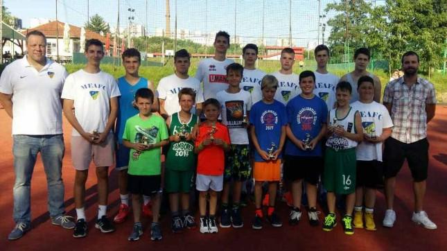 Díjátadót tartott a MEAFC kosárlabda csapata!