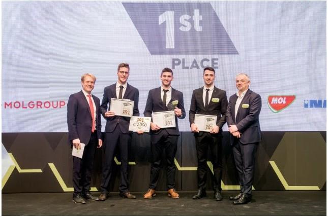Magyar csapat vitte el a fődíjat a MOL-csoport nemzetközi Freshhh versenyének döntőjében