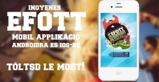 EFOTT mobil applikáció
