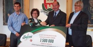 Másfél millió forinttal támogatja a Soproni a Miskolci Egyetemet!
